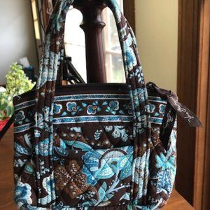 Vera Bradley Java Blue Retired Mini Bag